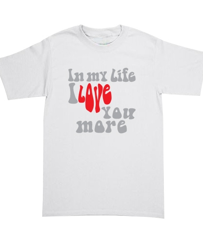 Playera The Beatles - In My Life