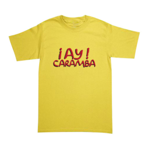 Playera The Simpsons - ¡Ay Caramba!