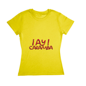 Blusa The Simpsons - ¡Ay Caramba!