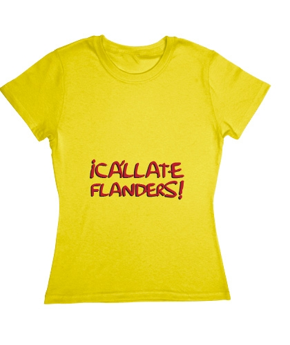 Blusa The Simpsons - ¡Cállate Flanders!