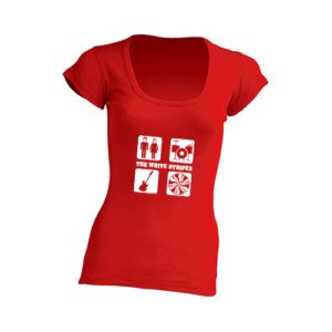 Blusa The White Stripes