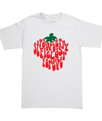 Playera The Beatles - Strawberry Fields