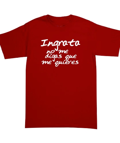 Playera Café Tacvba - La Ingrata