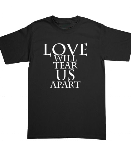Playera Joy Division - Love Wil Tear Us Apart