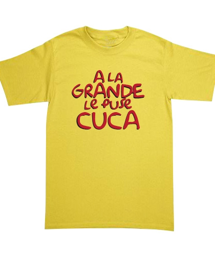 Playera The Simpsons - A La Grande Le Puse Cuca