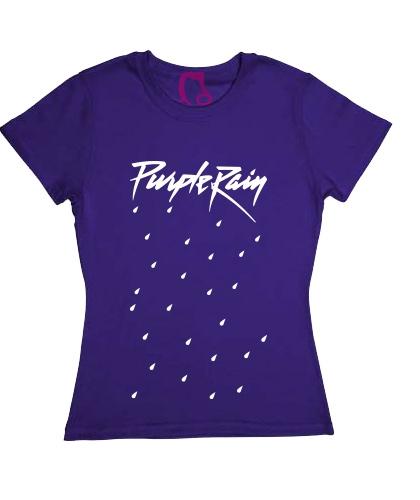 Blusa Prince - Purple Rain - Morada