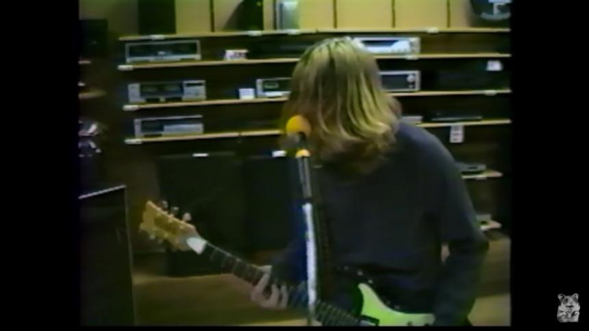 Sesión inédita de Nirvana en 1988.