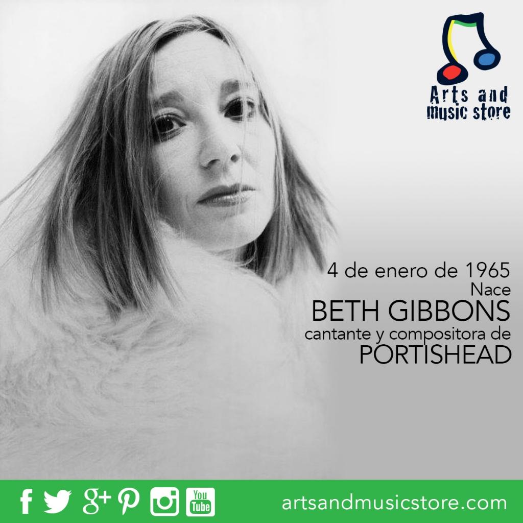 4 de enero de 1965 nace Beth Gibbons, cantante y compositora de Portishead