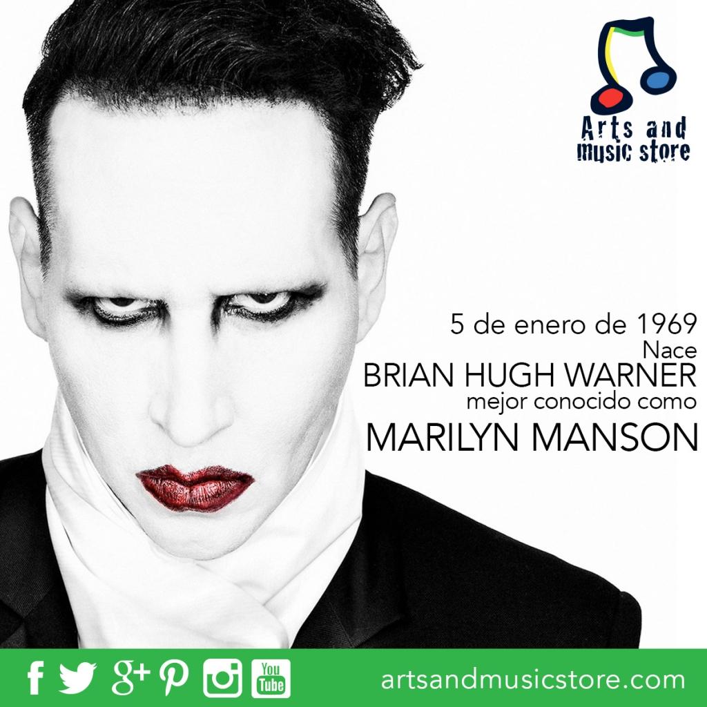 5 de enero de 1969 nace Marilyn Manson